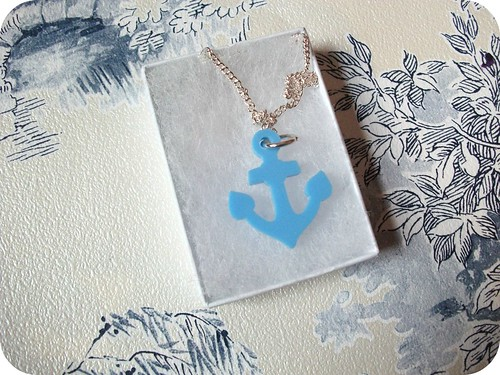 Tatty Devine Anchor Necklace