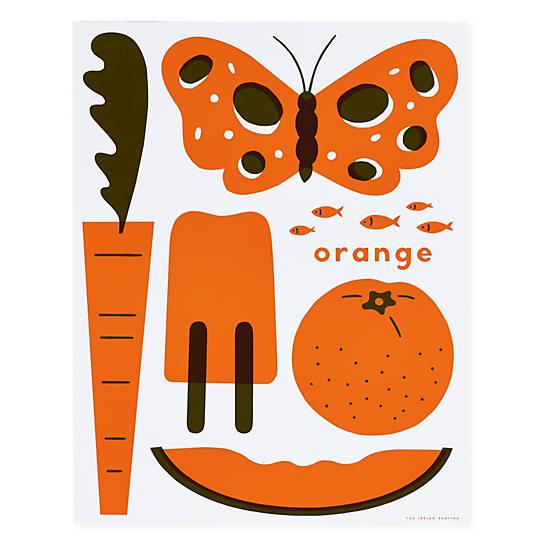 hues-you-can-use-unframed-wall-art-orange