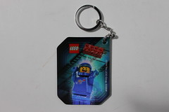 The LEGO Movie Accessory Pack Benny Lenticular Keychain