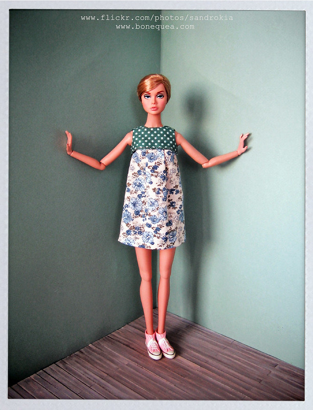 Poppy She's Not There & ooak dress.