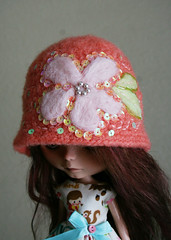 Peachy - Cloche Hat