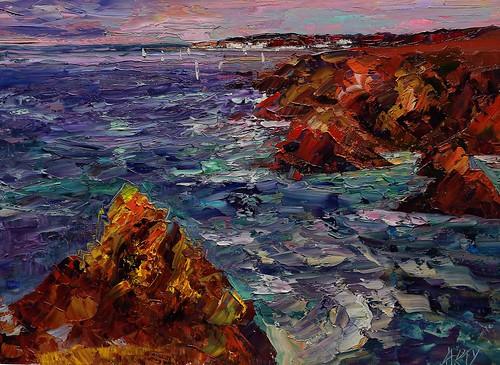 Cliffs. by Arturo Espinosa