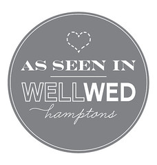 Bridal Styles bride Danielle featured in WellWed Hamptons