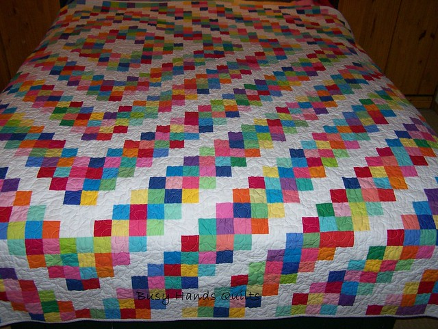Custom Queen-Sized Barn Raising Quilt