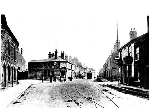 Railway Street, Heath Town early 1900's
