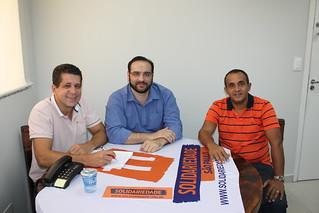 Clodoaldo Azevedo discute Eleições 2014 no Solidariedade-SP