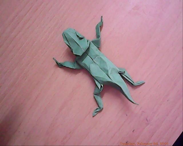 Origami Lizards | Tektonten Papercraft | 512x640