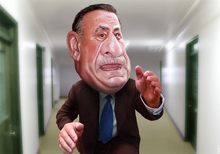 Paul LePage - Caricature