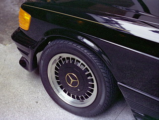 Centra Type-31 Wheels on 1983 Mercedes 500-SEC