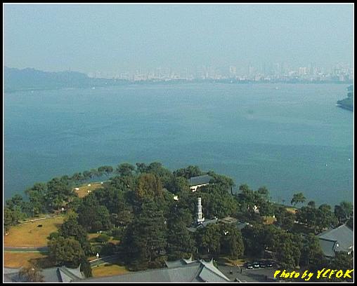 杭州 西湖 (其他景點) - 342 (從西湖十景之 雷峰塔上鳥瞰西湖)