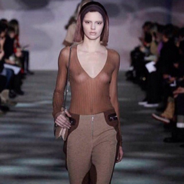 Kendall Jenner is officially a runway model. The Keeping ...
