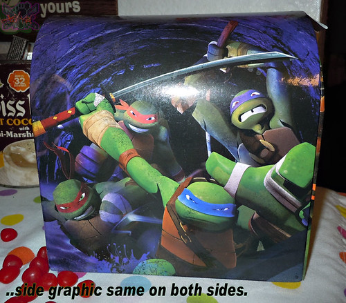 PAPER MAGIC GROUP :: Nickelodeon TEENAGE MUTANT NINJA TURTLES ; VALENTINE'S MAIL BOX v // ..box (( 2014 ))