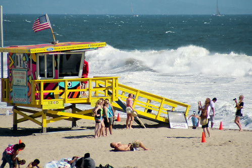 Action By the Lifeguard Station