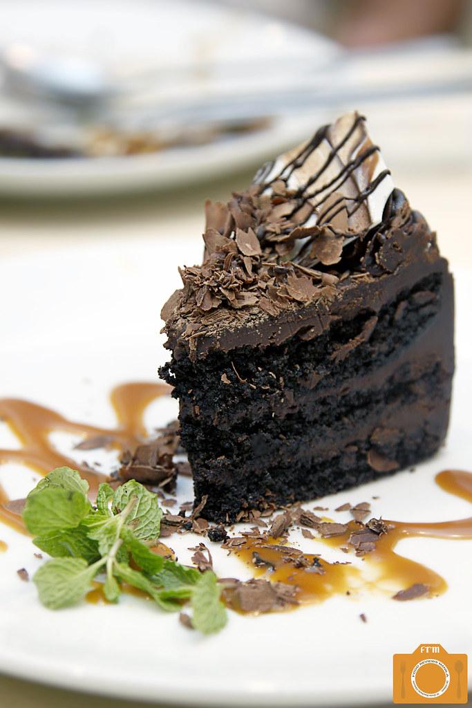 Market Basket Belgian Chocolate Cake