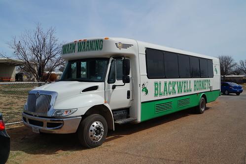 hornets blackwell activitybus icbus hcseries