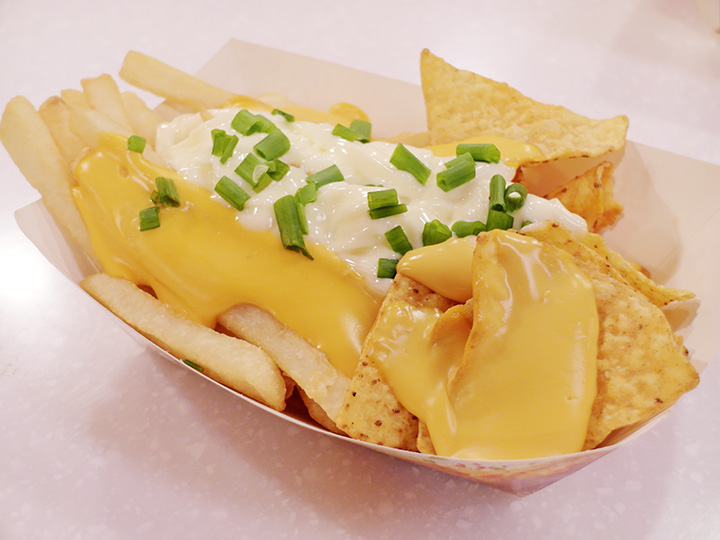 Cheese Nacho Chips & Fries.