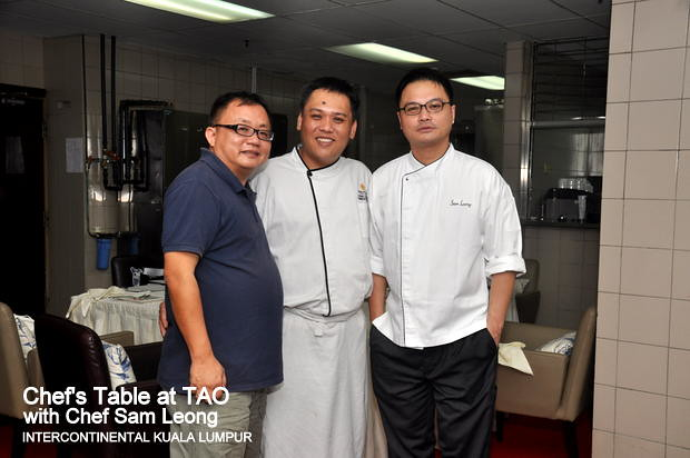 Chef's Table with Chef Sam Leong at TAO Intercontinental Kuala Lumpur 10