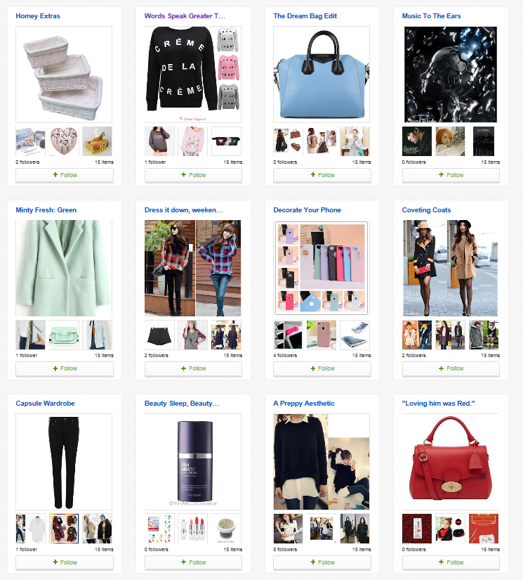 Daisybutter - UK Style and Fashion Blog: eBay Collections