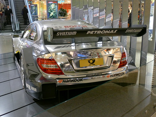 Heck: DTM Mercedes AMG C-Coupe 2013