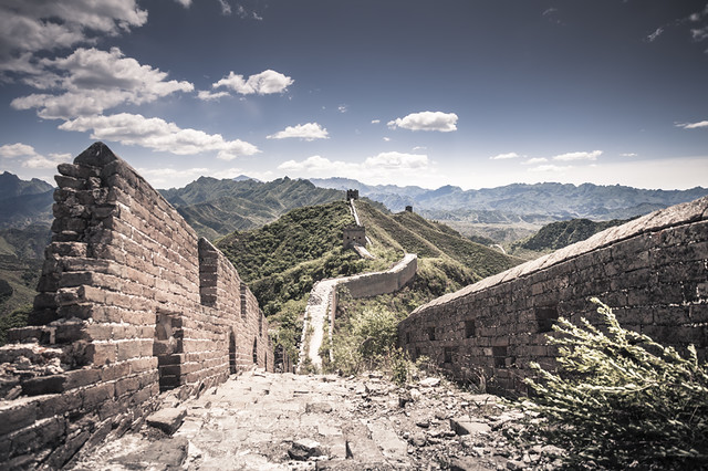 Landscape, China / Beijing / Landscape / Walking over The Great Wall