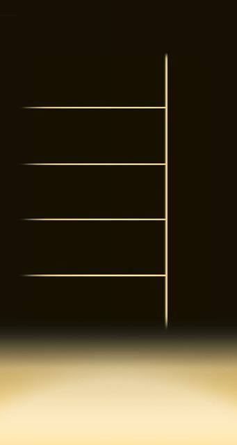 Wallpaper Shelf For Parallax Effect Right Well / IOS 7