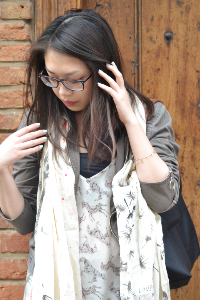 Daisybutter - UK Style and Fashion Blog: what i wore, ootd, british fashion blogger, Chinese fashion bloggers