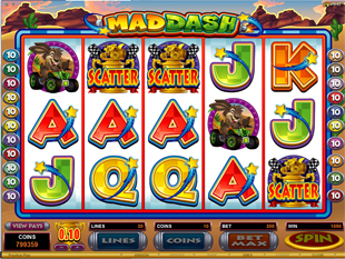 Mad Dash Free Spins