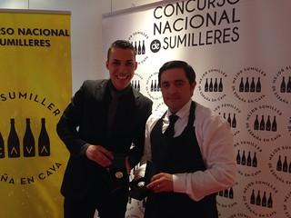 Guillermo Cruz (izquierda) y Julio David Tauste.