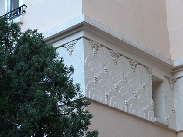 mur Art déco cannes