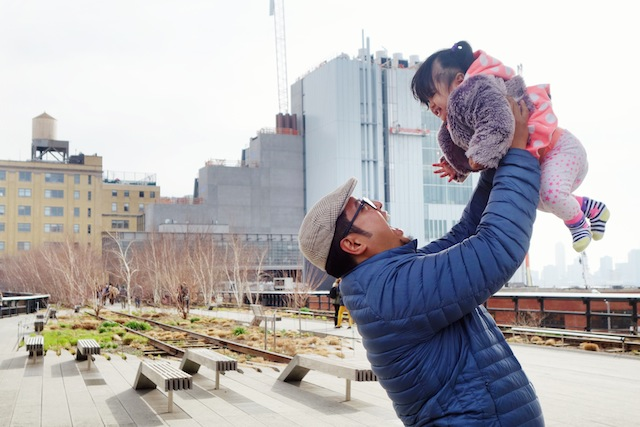 The High Line New York Tala and Daddy