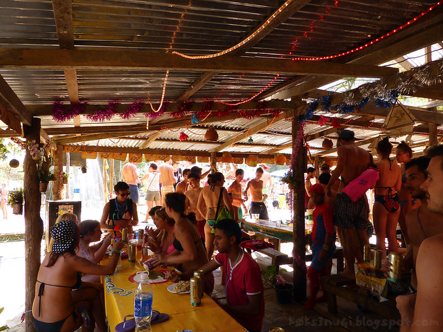 Vang Vieng Tubing 06 Second Bar's Party Crowd
