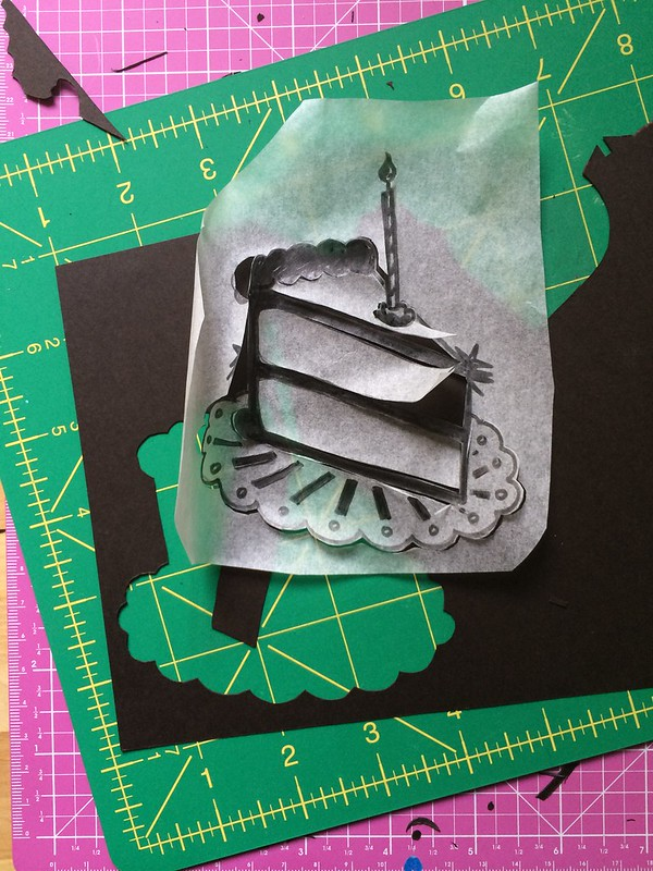 Papercut process photo