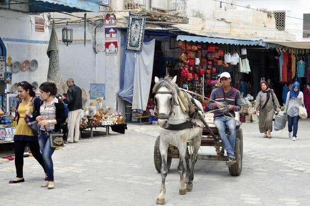 Interior de la Medina de Kairouan Kairouan, la cuarta ciudad más santa de la fe musulmana - 14125541022 e9468dc8a5 z - Kairouan, la cuarta ciudad más santa de la fe musulmana
