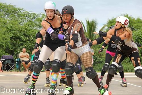 Maui Roller Girls courtesy of Duane Sparkman