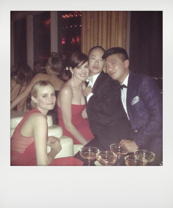 Diane Kruger, Anne Hathaway, Jason Wu and Bryanboy