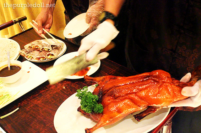 Peking Duck Preparation at Phoenix Court