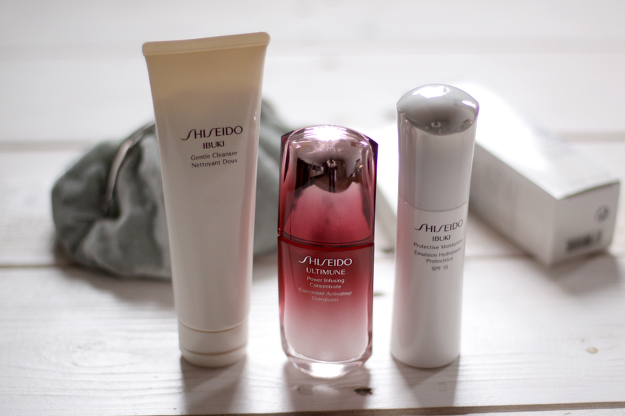 Shiseido Deutschland winter haut pflege routine skincare ultimune ibuki cold weather schöne haut cleanser moisturizer fluid gel beauty beautyblogger ricarda schernus cats and dogs berlin hannover bloggerin germany 1