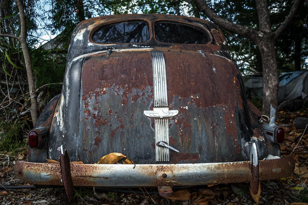 Abandoned Pontiac