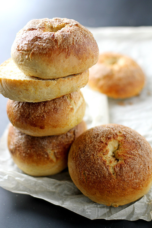 French Toast Bagels | girlversusdough.com @stephmwise