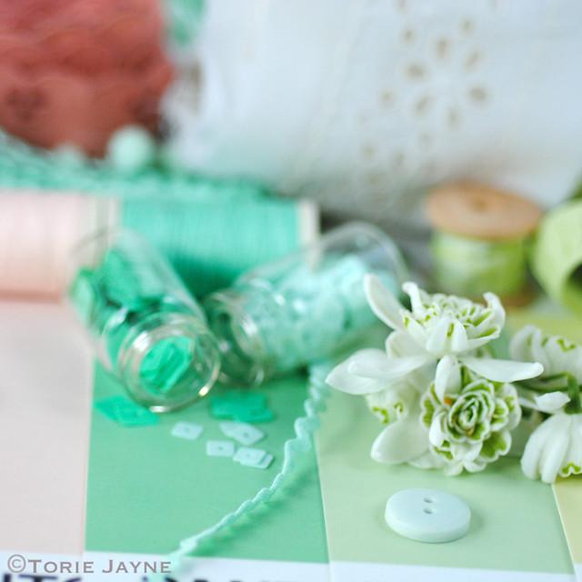 Colour palette for guest bedroom 1