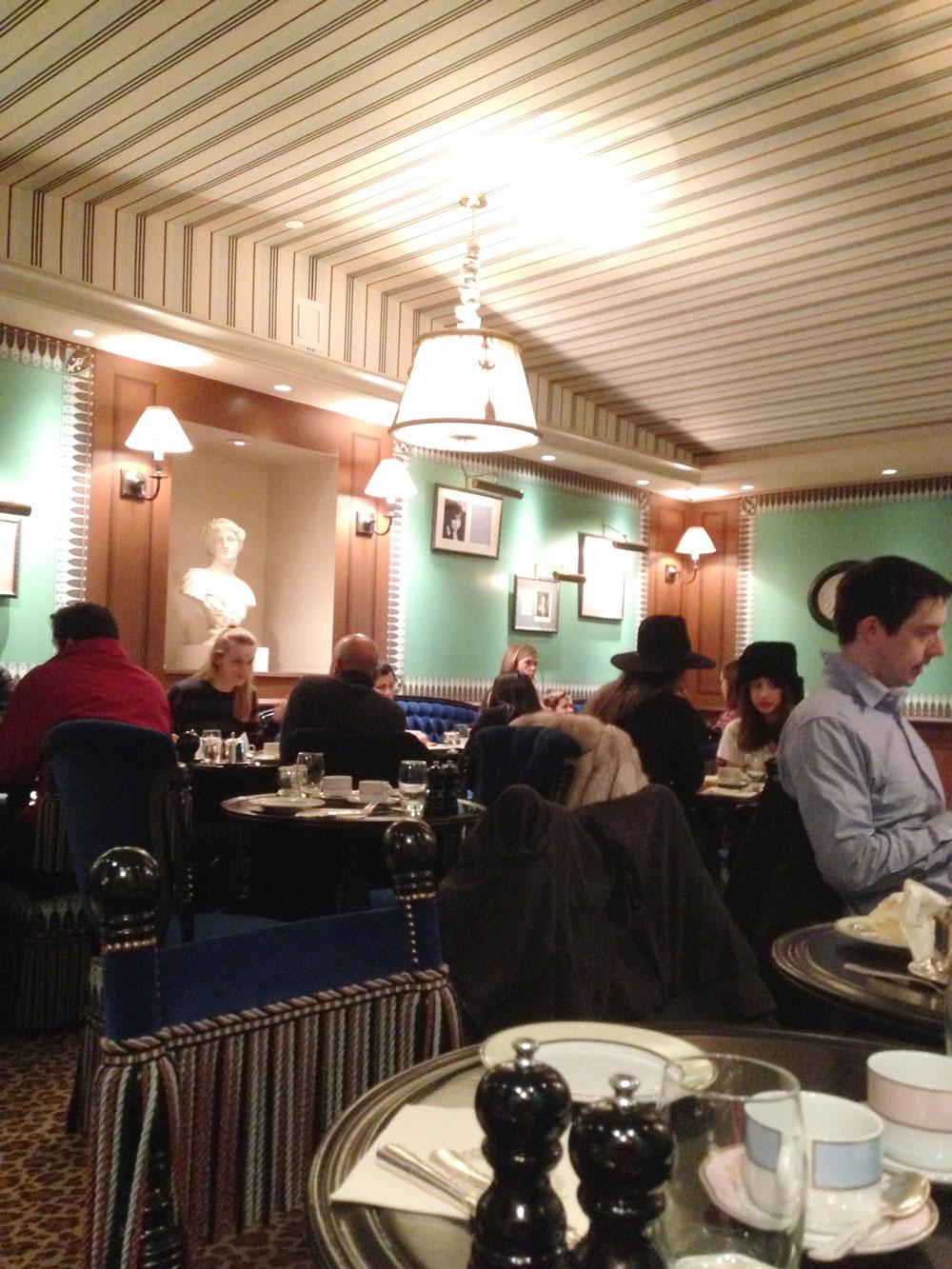 Laduree NYC Soho dining