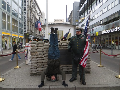 75. checkpoint charlie headstand