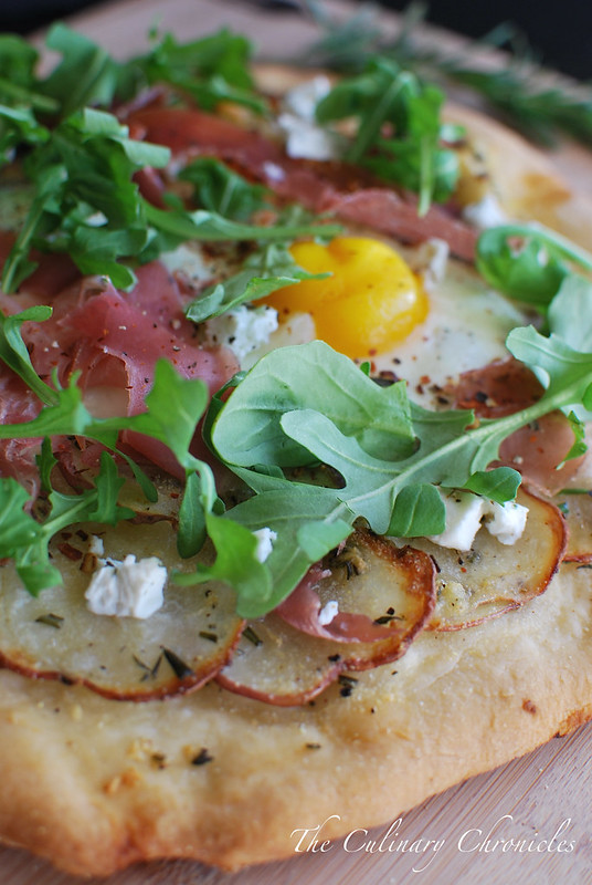 how to make prosciutto pizza