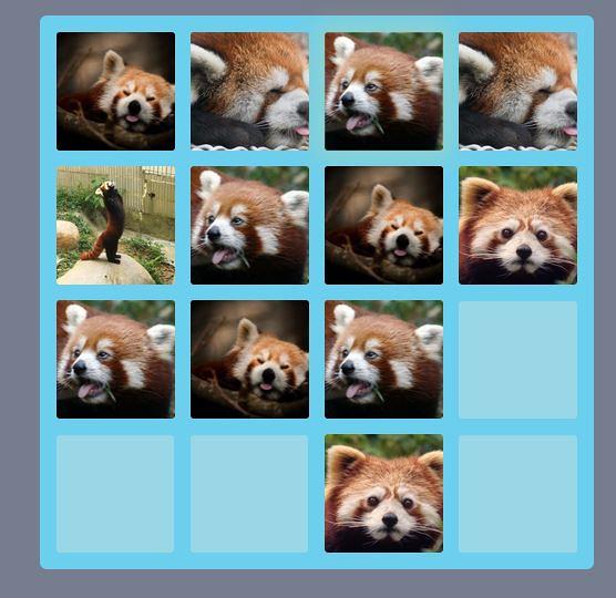 red panda 2048