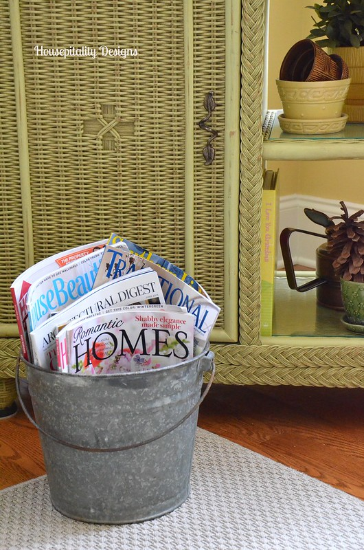 Vintage Galvanized bucket - Housepitality Designs