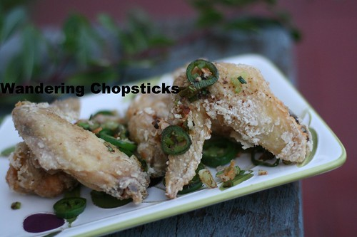 Chinese Deep-Fried Chicken Wings with Spicy Salt 1