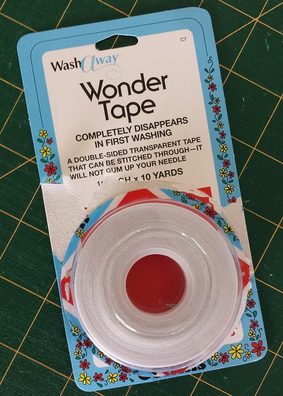 Wash away wonder tape