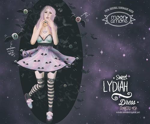 :Moon Amore: Sweet Lydiah Dress & Socks