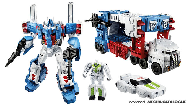 "TRANSFORMERS Generations ""Combiner Wars"" - Leader Class ULTRA MAGNUS"