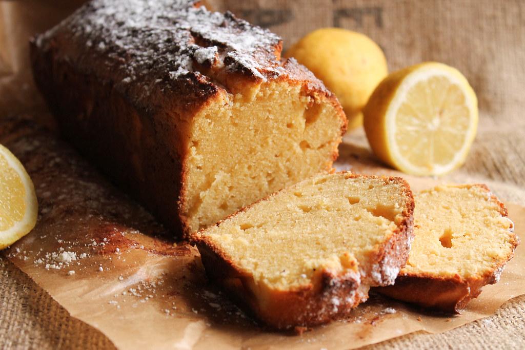 Cake au citron et mascarpone sans gluten